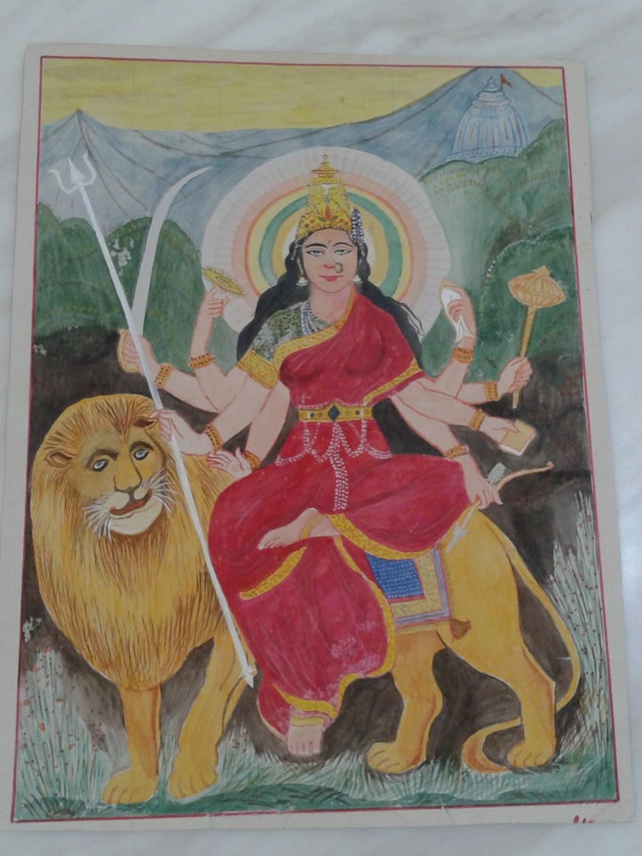 Potrait of Ambaji mata