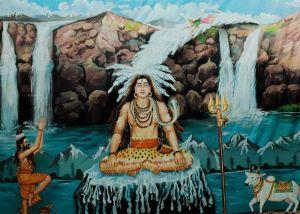 Shiva and ganga